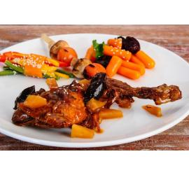 Chicken with Dried Fruits