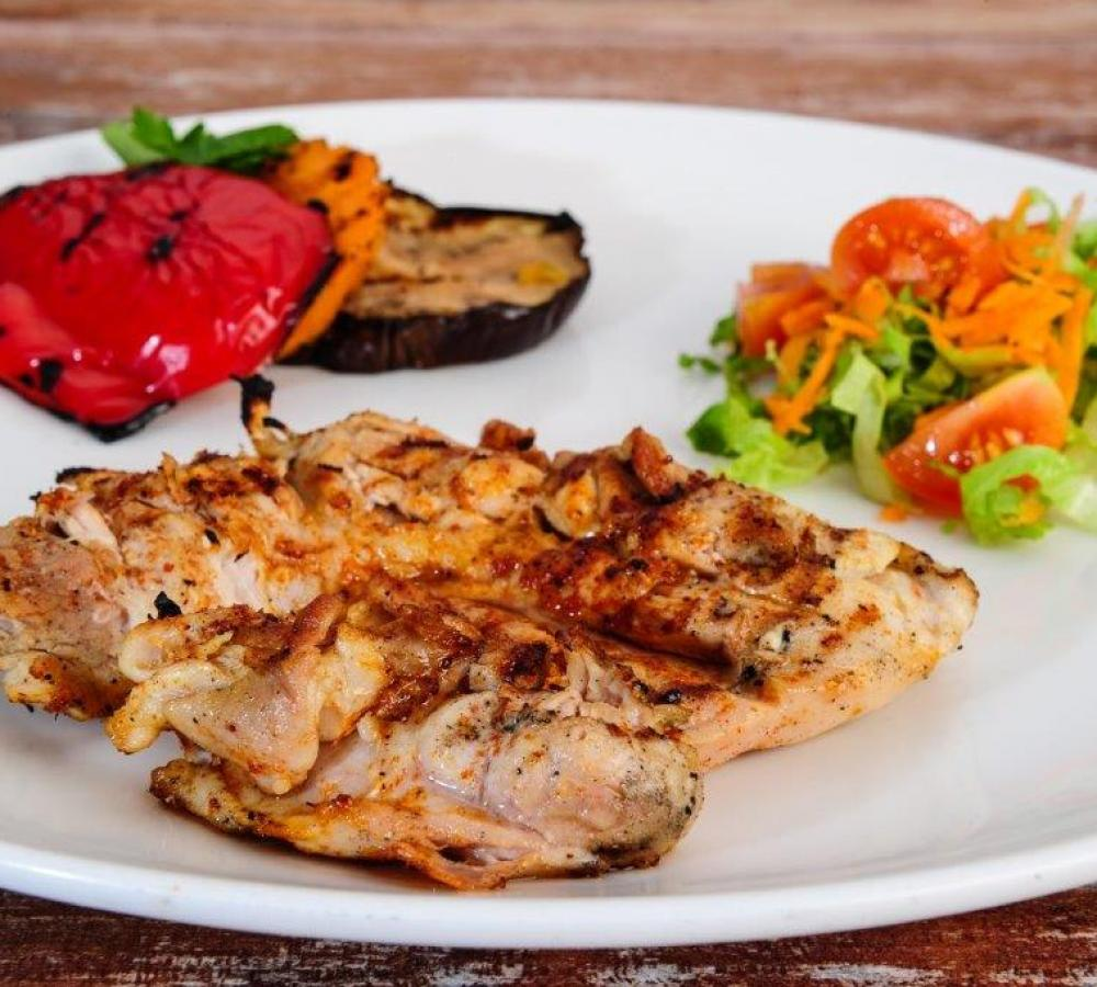 BBQ Spring Chicken Escalope