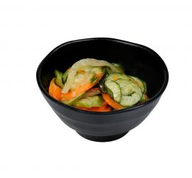 Cucumber, Carrot & Onion